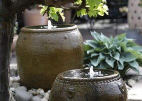 Sprudelvasen aus Keramik