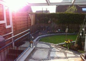 kleiner Garten vorher