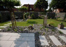 architektonischer Garten nachher