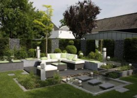 Exklusive Gartenarchitektonik in Oelde