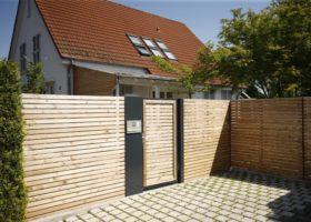 Zäune und Sichtschutzwände